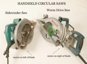 Sidewinder & Worm Saws